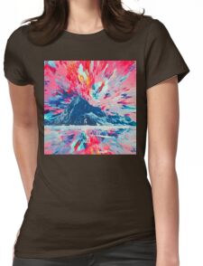 Abstract 26 Womens Fitted T-Shirt