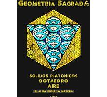 Sacred Geometry-Platonic Solids Photographic Print