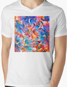 Abstract 33 Mens V-Neck T-Shirt