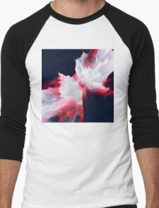 Abstract 14 Men's Baseball ¾ T-Shirt