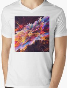Abstract 10 Mens V-Neck T-Shirt
