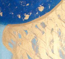 Golden Jellyfish Sticker