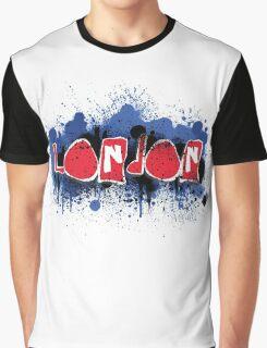 London Graffiti Design  Graphic T-Shirt