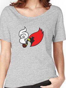 Smoking Cardinal Women's Relaxed Fit T-Shirt