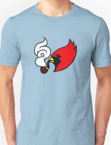 Smoking Cardinal Unisex T-Shirt
