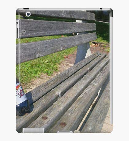 rootbeer bench iPad Case/Skin