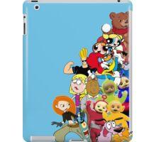 90s Cartoon Charecters iPad Case/Skin