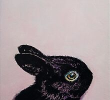 Black Bunny by Michael Creese