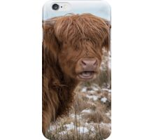 The Laughing Cow, Scottish Version iPhone Case/Skin