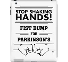 Fist Bump for Parkinson's iPad Case/Skin