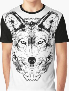 Wolf Black Graphic T-Shirt