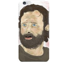 Rick Grimey Grimes The Walking Dead  iPhone Case/Skin