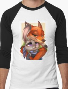 Zootopia - Nick x Judy Men's Baseball ¾ T-Shirt
