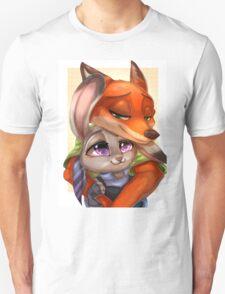 Zootopia - Nick x Judy Unisex T-Shirt
