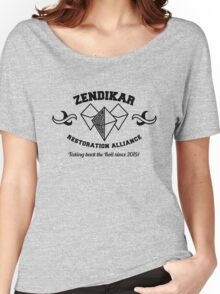 Zendikar Restoration Alliance  Women's Relaxed Fit T-Shirt