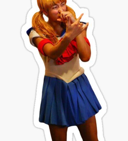 Sailor Moon Rapmon Sticker