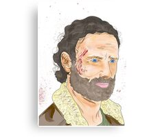 Rick Grimes, The Walking Dead Canvas Print