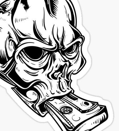 Teskull Sticker