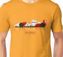 Mika Häkkinen  - McLaren MP4/8 Unisex T-Shirt