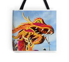Dragon Chinese Mushu Fire Breathing Tote Bag