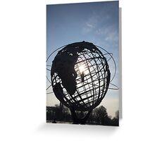 Unisphere Greeting Card