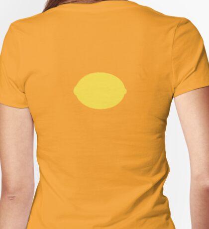 Lemon Back Shirts & Hoodies Womens Fitted T-Shirt