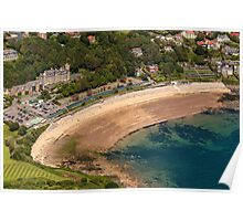 Langland Bay, Gower Poster