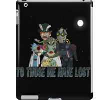 Ricked of The dead!!! iPad Case/Skin