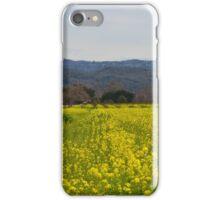 Napa Valley Mustard Flowers iPhone Case/Skin