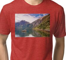 Grande Camping Tri-blend T-Shirt