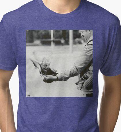 Caring hand Tri-blend T-Shirt