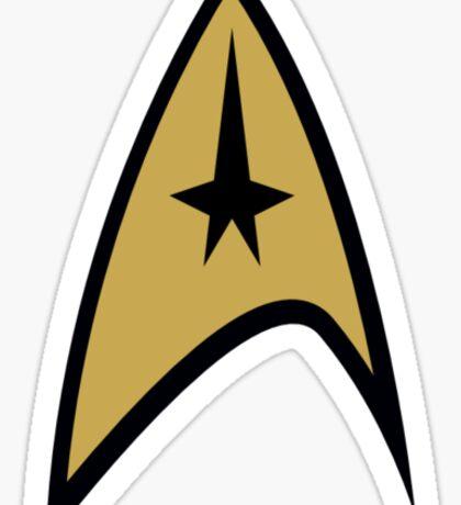 Star Trek: Federation Badge Sticker