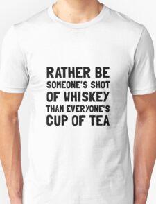 Shot Of Whiskey Unisex T-Shirt