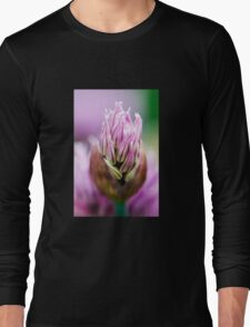 Chive Blossom 5 Long Sleeve T-Shirt