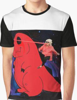 Paula Dean Riding Dino Graphic T-Shirt