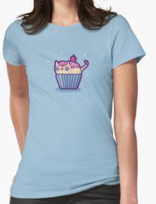 Catcupcake Womens Fitted T-Shirt