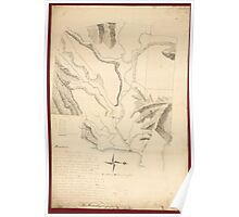 American Revolutionary War Era Maps 1750-1786 242 A plan of the Rosalij Compy Estates showing the impracticable lands Poster