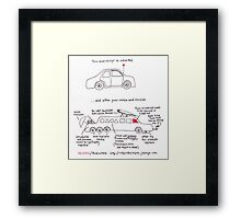 Your Manuscript On Peer Review Framed Print