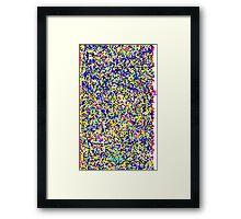 0124 Framed Print