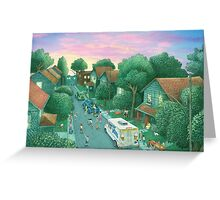 Grimloch Lane - Sunset  Greeting Card