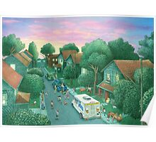 Grimloch Lane - Sunset  Poster