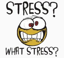 What Stress Kids Tee