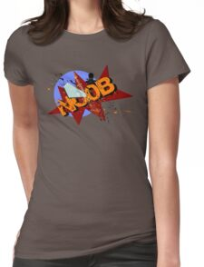 Noob Two Womens Fitted T-Shirt