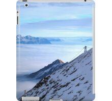 Islands in a see of clouds iPad Case/Skin