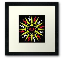 Eye am Sirius Framed Print