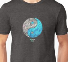 Breaking Ying Yang Unisex T-Shirt