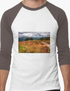Autumn in Lake District Men's Baseball ¾ T-Shirt