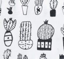 An abundance of cacti Sticker