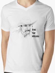 I Drink Your Milkshake Mens V-Neck T-Shirt