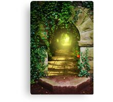 The Secret Path Canvas Print